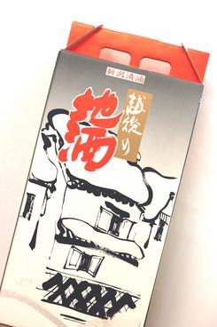 新潟清酒共通 1800ml瓶2本入れ化粧箱