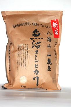 八海山麓産 魚沼コシヒカリ 5kg  在庫なし