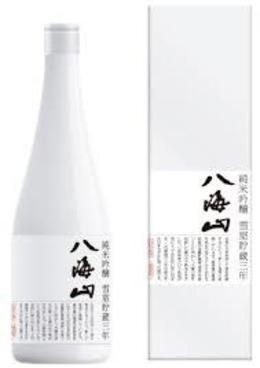 八海山 雪室貯蔵三年 純米吟醸720ml