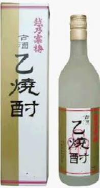 越乃寒梅 乙焼酎720ml